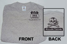 shirt killerTechs